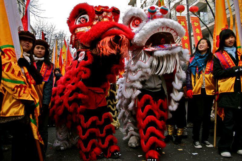 Défilé du nouvel an chinois.