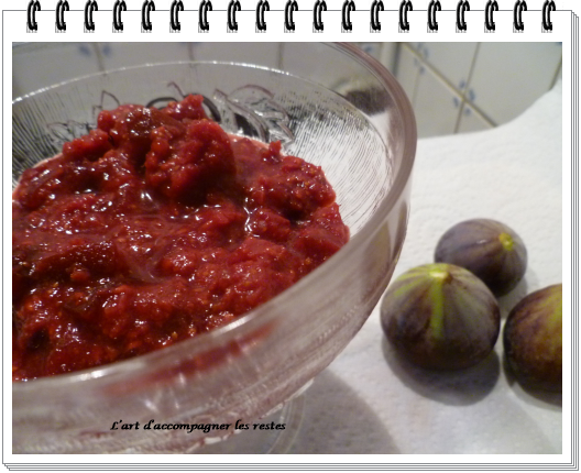 Compote figues framboises 2