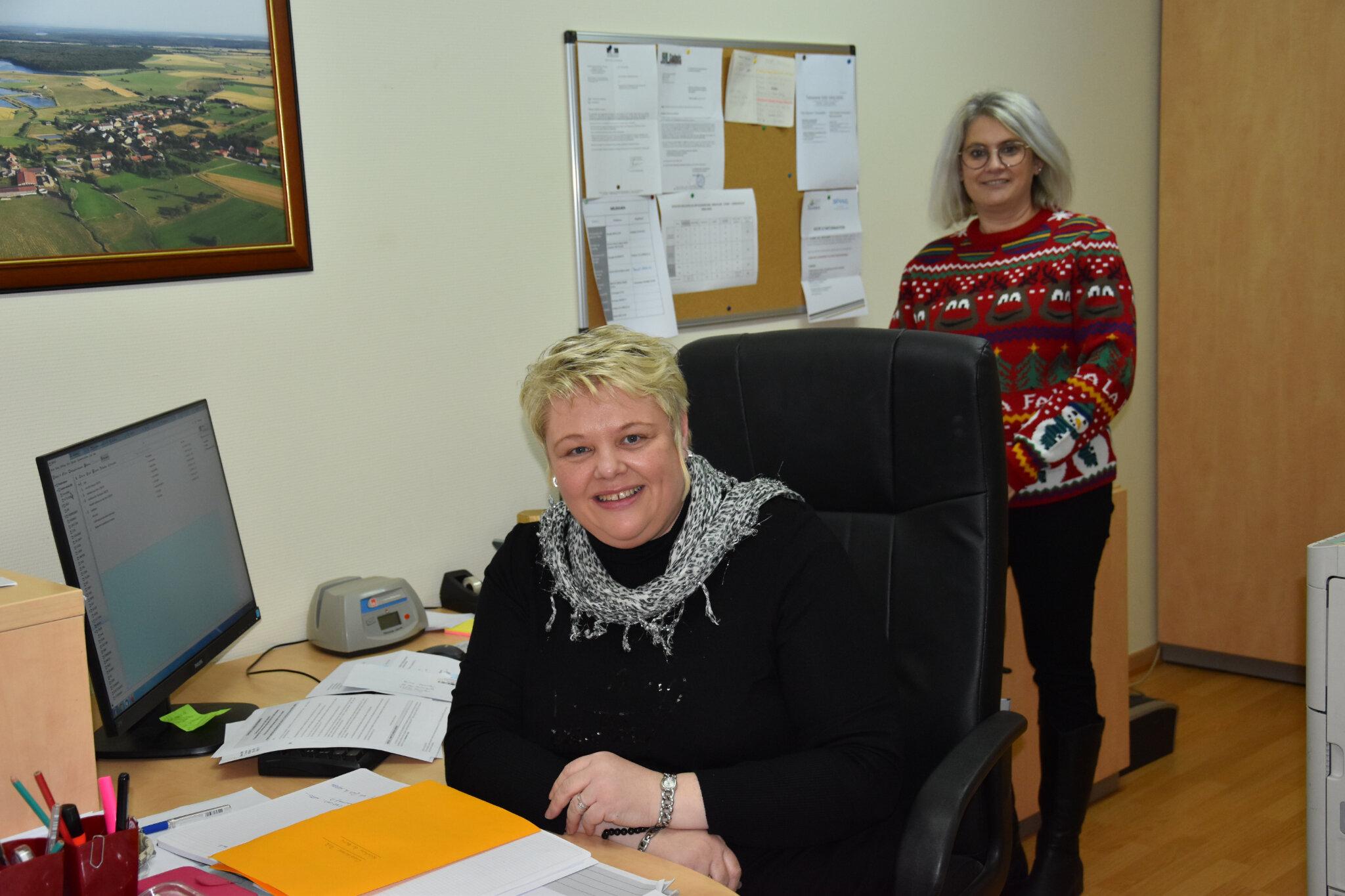 Bienvenue à la nouvelle secrétaire de mairie