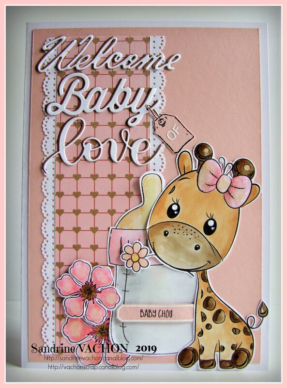 Carte WELCOME BABY OF LOVE (1)