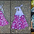 Robe dos nu hawaïenne pour lily