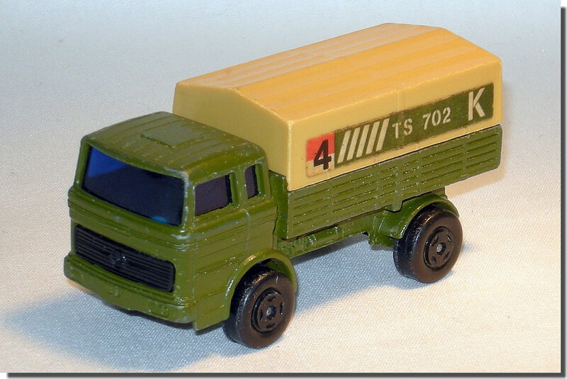 Lesney Matchbox 01 F Military 01