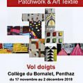 Exposition de patchwork à penthaz