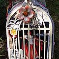 Le mini cage à oiseaux gala de danse cindy