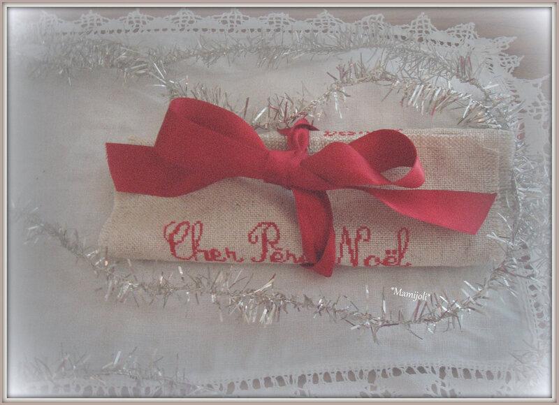 Lettre au Père Noel - grille C mon Monde