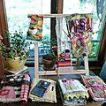 Juillet: textile à l'auberge.
