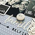 Famille selfie