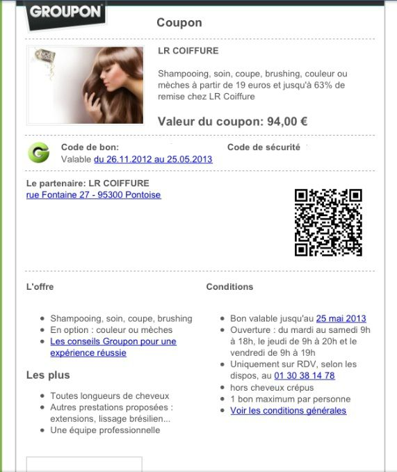 groupon lr coiffure pontoise mon avis sur tout le combat de ma vie. Black Bedroom Furniture Sets. Home Design Ideas