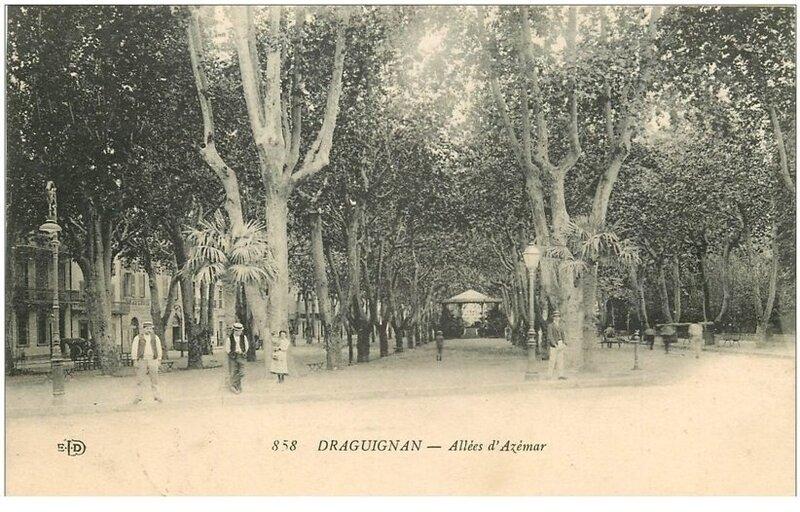 A Draguignan, les Allées portent son nom : le baron Jean Baptiste Pierre Melchior d'Azémar