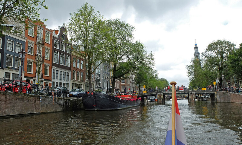 Amsterdam, les canaux