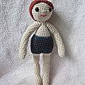 Test crochet - poupée garçon...