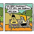 Strip 39 / bill et bobby / la banque