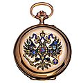 Pavel bure russian imperial presentation gold pocket watch, switzerland / russia, circa 1916