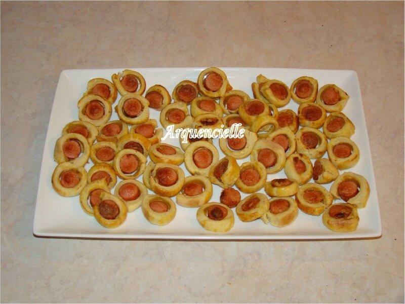 feuillettés saucisses
