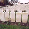 Carré indien cimetière militaire britannique Estaires (59)