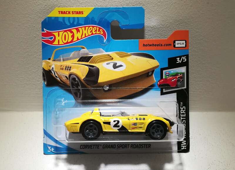 Chevrolet Corvette Grand Sport Roadster (Hotwheels)