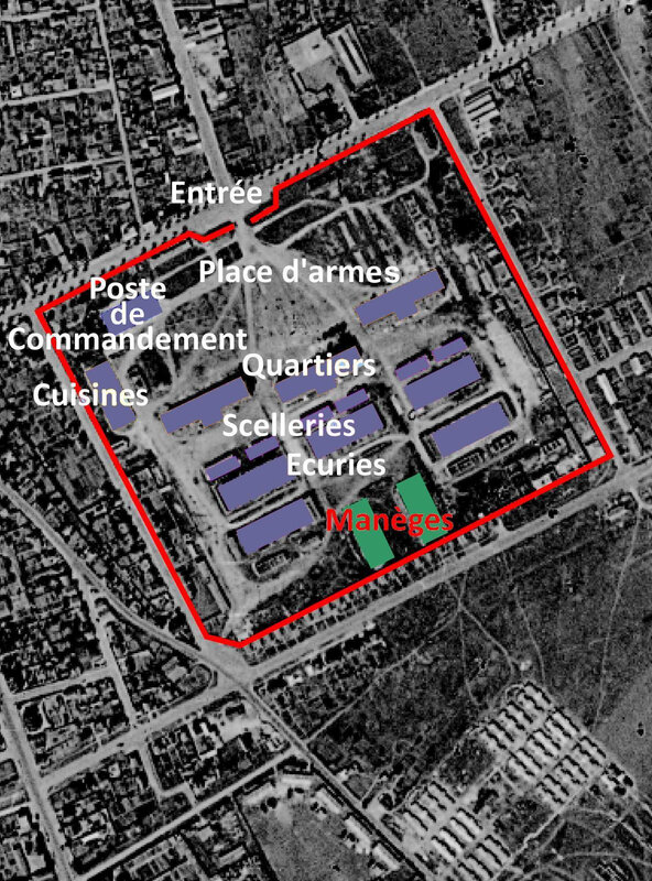 Plan Quartier Claude Decaen manèges