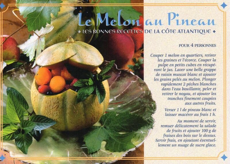 Melon au Pineau