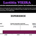 Visualize.me : créer un cv sous forme d'infographie