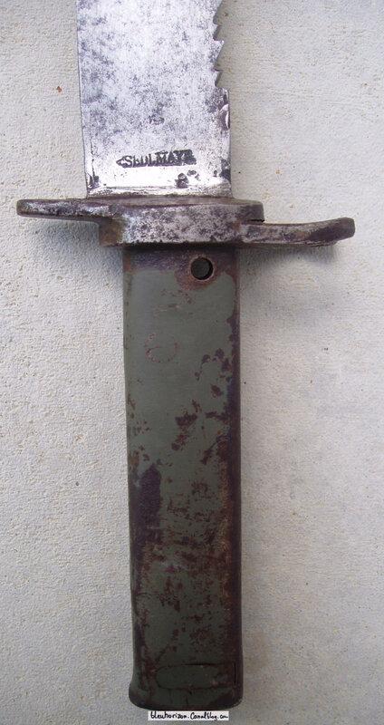 baîonnette ersatz à lame de glaive bavarois 1838