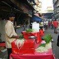 Vegies seller