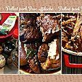 Porc effiloché / pulled pork une viande fondante et savoureuse !