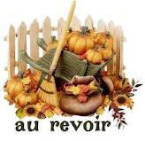 au revoir automne