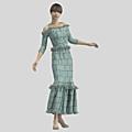 A bohemian dress
