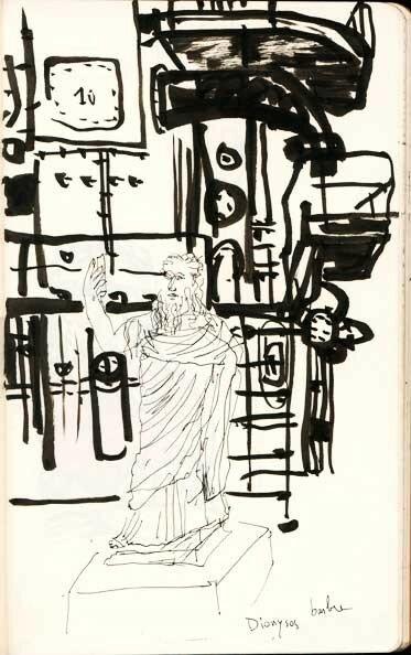 Dionysos barbu dans un gazomètre