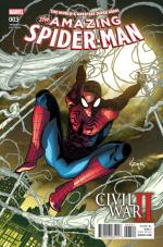 civil war II amazing spiderman 03 variant