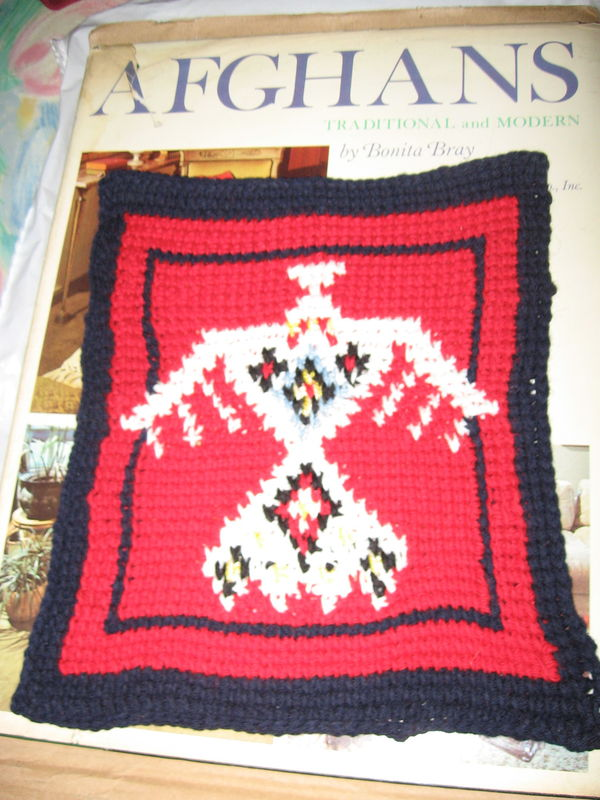 Afghan from traditional & modern by Bonita Bray