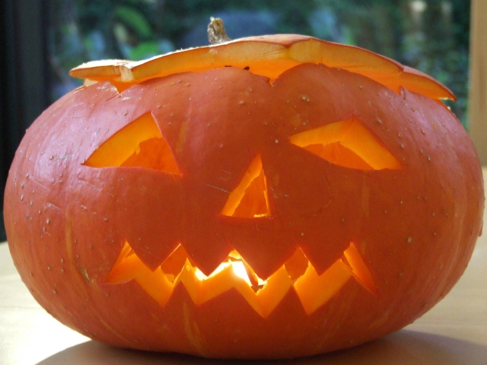 Un Potiron effrayant pour Halloween...