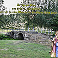 Curçay sur dive, ses églises, son donjon, le pont de la reine blanche de castille et saint louis.