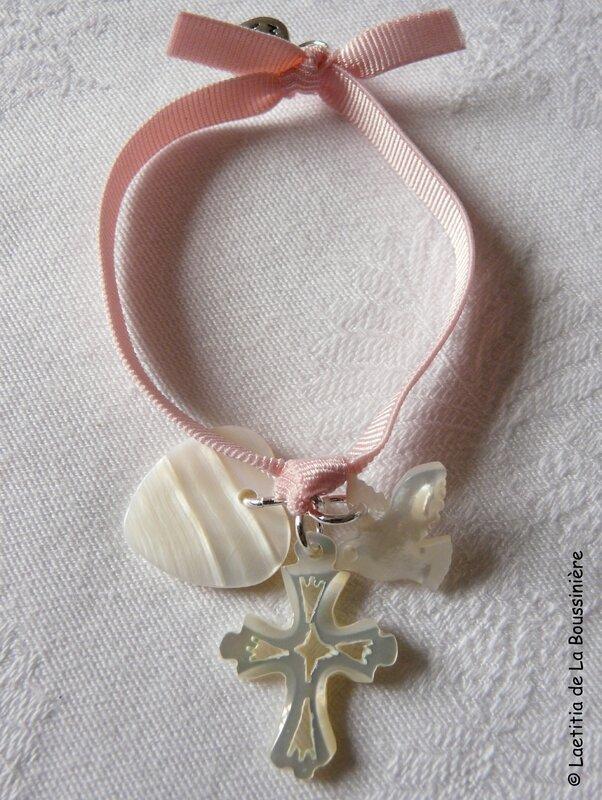 Bracelet Sainte Trinité (sur ruban élastique) - 27 €