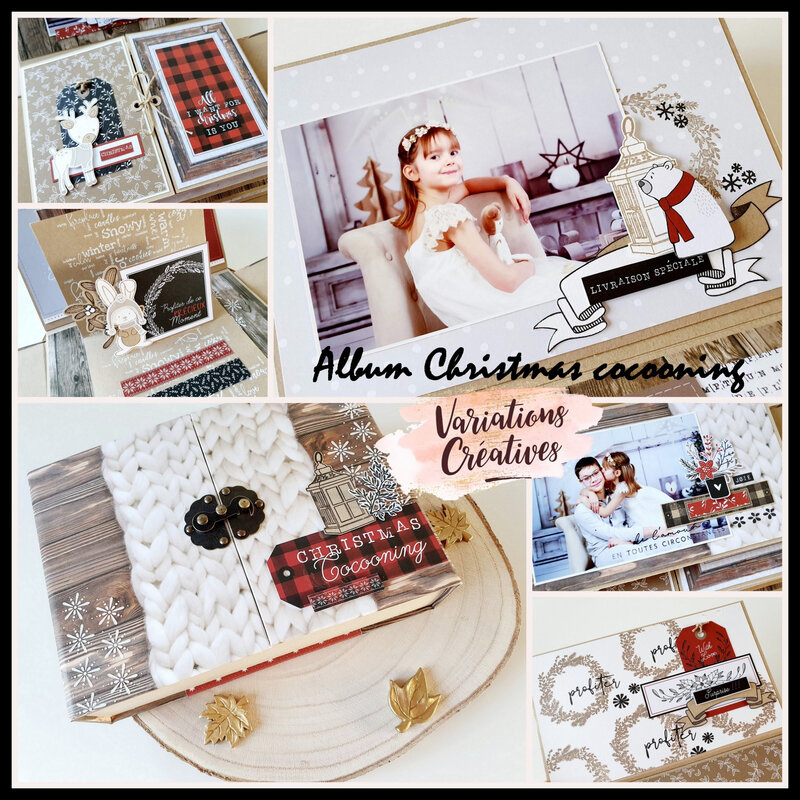 affiche album Christmas cocooning