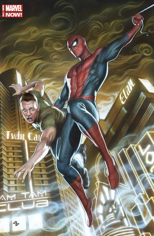 panini spiderman V5 01 granov cover