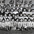 Glageon - l'ecole maternelle 1950-1951