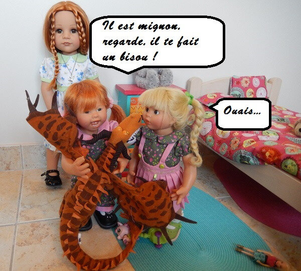 Grosse frayeur pour Lola et Anna !
