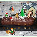 Gâteau de marrons-chocolat