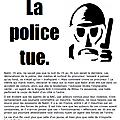 A millau comme ailleurs la police tue. verite et justice pour nabil tue par la bac