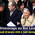 Mgr le comte de paris rend hommage à louis xvi dans la paroisse des rois de france