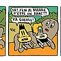 Strip 33 / bill et bobby / le banc