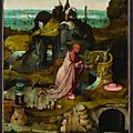 Exhibition at the doge's palace presents works by hieronymus bosch