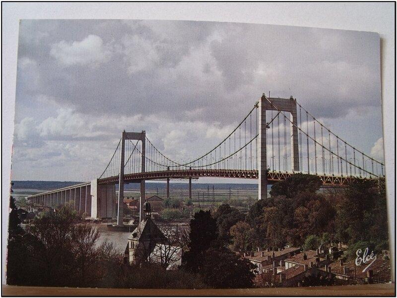 Bordeaux - le pont suspendu