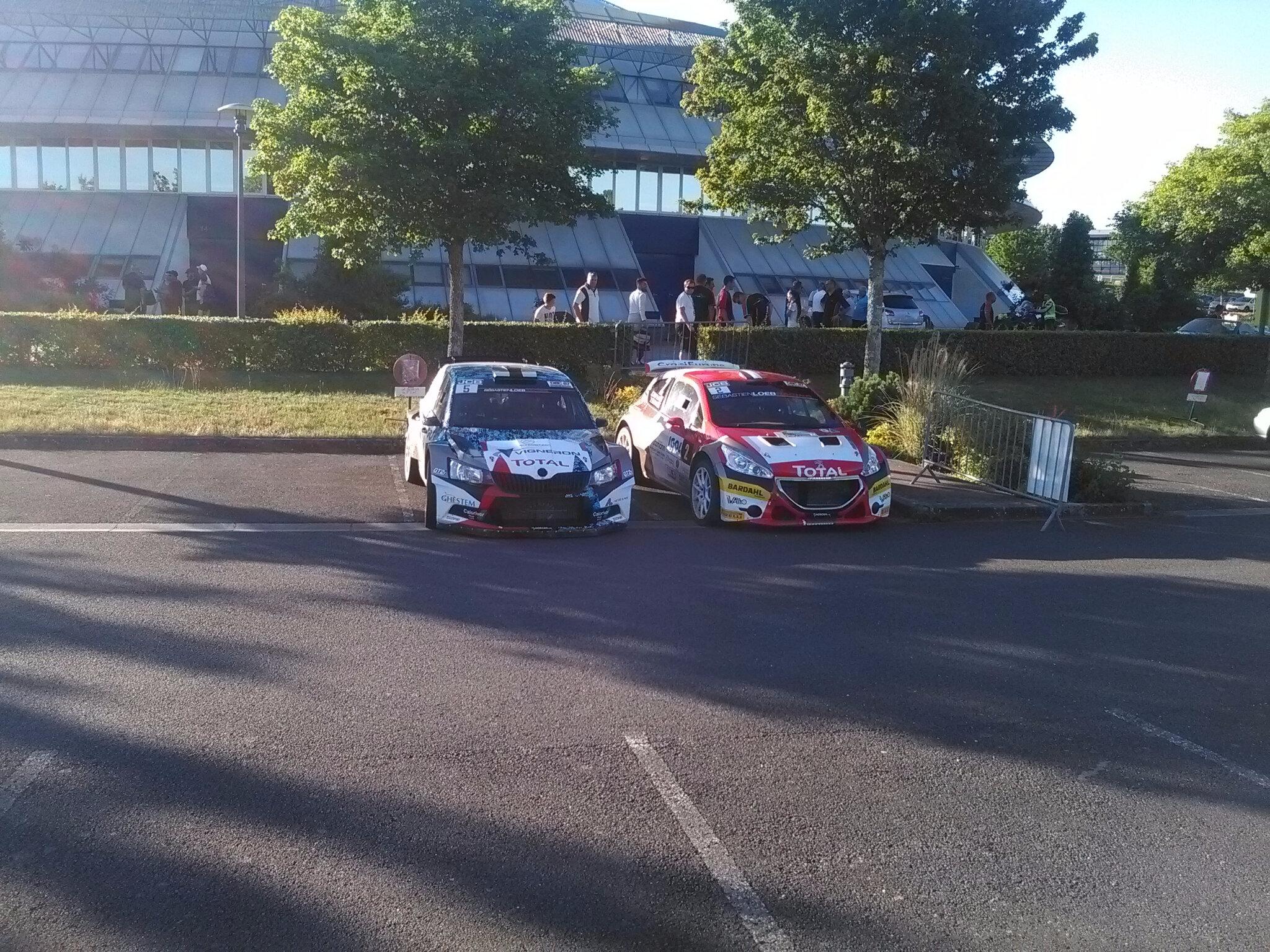 Quentin giordano Skoda fabia r5 et Charles martin Peugeot 208 t16 r5