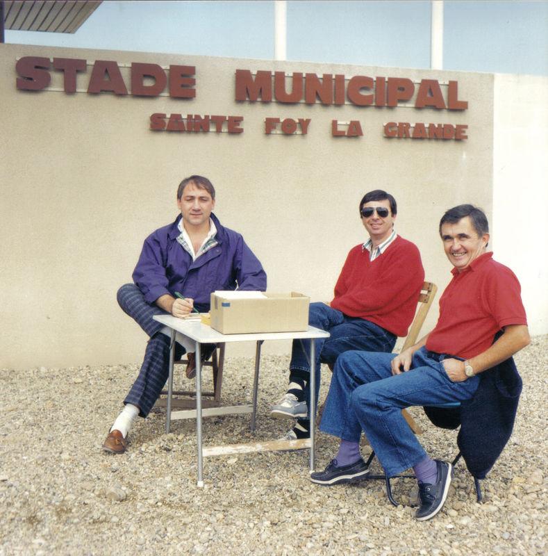 Régis Letellier, Yves Barbe, René Jabot