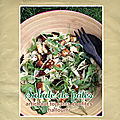 Salade de pâtes : artichaut, tomates confites & halloumi