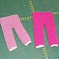 pantalon pyjama poupée crochet 1