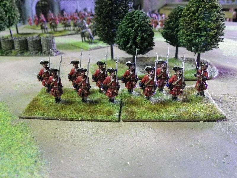 soldats anglais guerre de succession d espagne