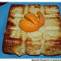Clafoutis abricots et peches blanches